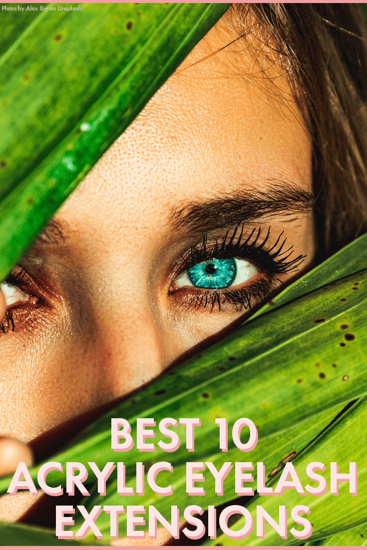 339b4ea4525 The Best 10 Acrylic Eyelash Extensions – Blushcon
