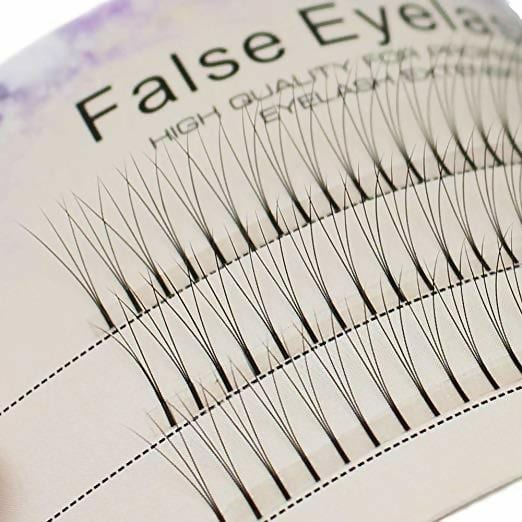 Scala 0.1 C Curl 120pcs 8-16mm to Choose Individual Lashes Black False Eyelash Natural Long Cluster Extension Makeup Beauty Health Makeup Fake Eyelashes (12mm)