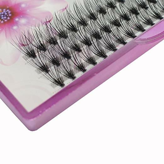 Dedila Scala 8/10/12/14mm 60pcs 20 Root Grafting Individual False Eyelashes Mink Natural Long Eye Lashes Cluster Extension Makeup Beauty Fake Eyelash(14mm)